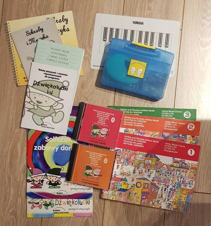 Yamaha Szkoła Muzyczna-zestaw książek+płyty CD