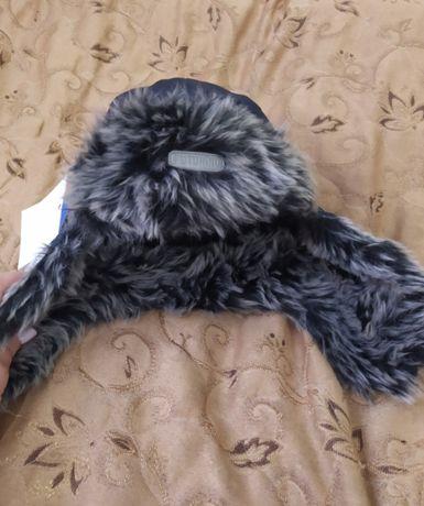 Шапка-ушанка на мальчика размер 52-54. Шапка зимняя детская.