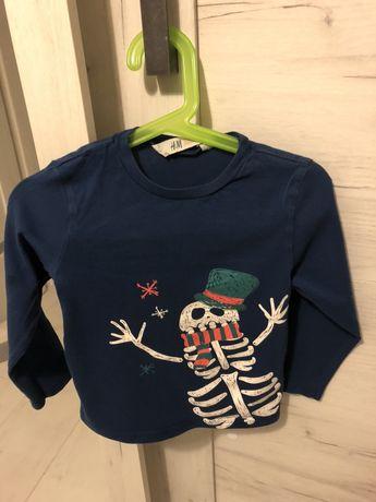 Bluzka h&m 98/104 koszulka