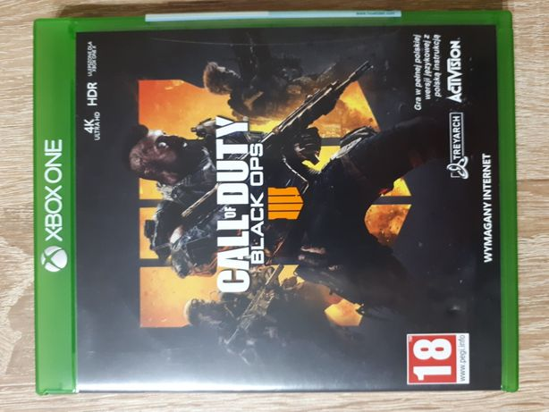 Call of Duty Black ops 4 pl. Xbox one