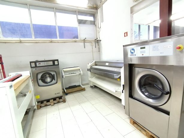Leilão de equipamentos novos e usados para lavandaria industriais