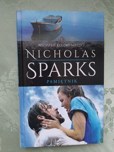"""Książka Nicholas Sparks """"Pamiętnik"""". Nowa."""