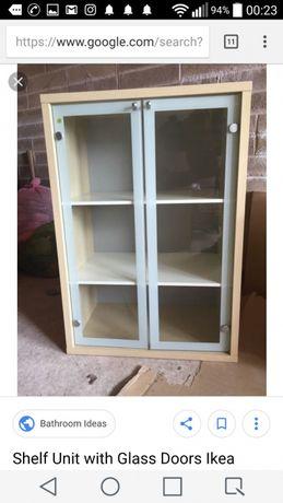4 pares  Portas de vidro MAGIKER 31x94cm do IKEA vendi 4pares no OLX