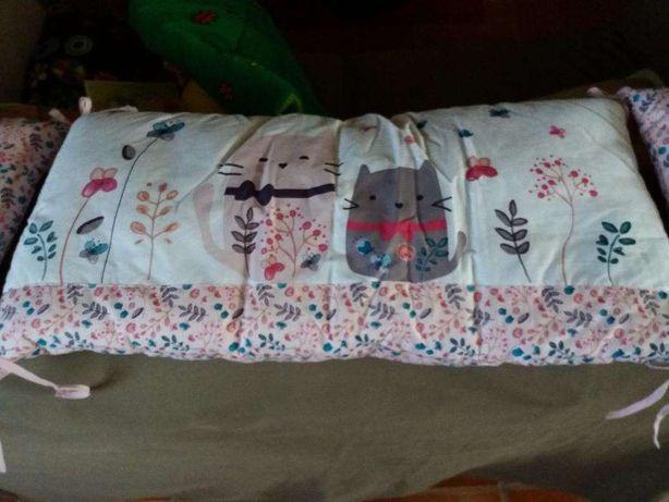 Proteção de cama de grades