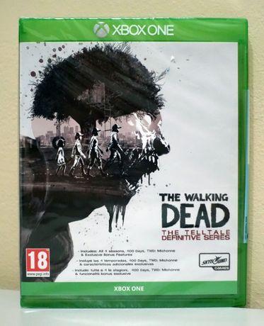 The Walking Dead The Telltale Definitive Series - Xbox - Nowa, Folia