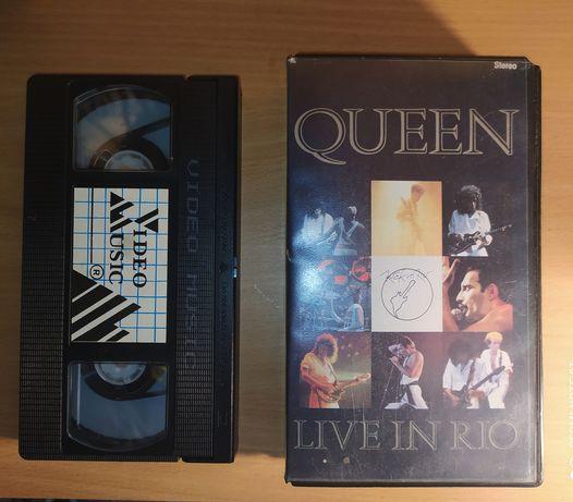 Kaseta VHS QUEEN - Live  in Rio 1985