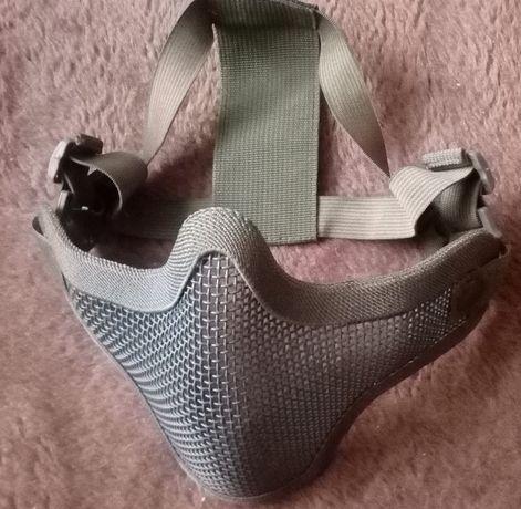 Maska i kamizelka taktyczna ochronna ASG