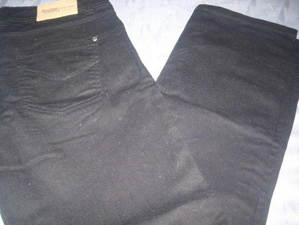 czarna dżinsy