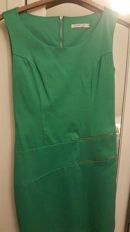 Sukienka zielona M