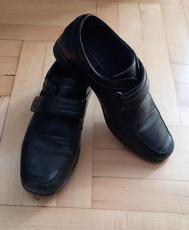 Eleganckie buty chłopięce rozm. 37