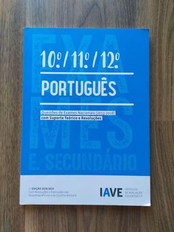 Livro de preparação para exame de Português - IAVE