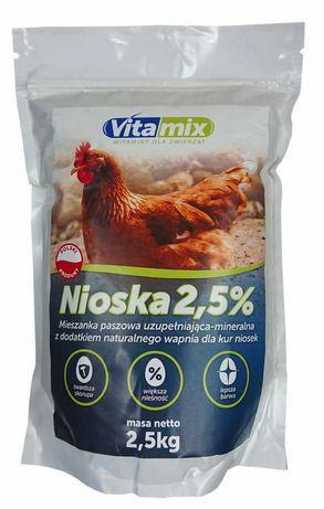 VITA-MIX witaminy dla niosek 2,5kg TWARDE SKORUPKI