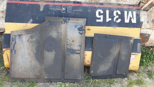 koparka kołowa cat m 315 m312 318 osłona plastokowa pod kabinę węży