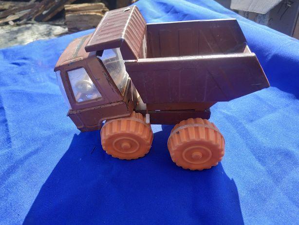 Детская игрушечная машинка СССР КамАз МАЗ самосвал