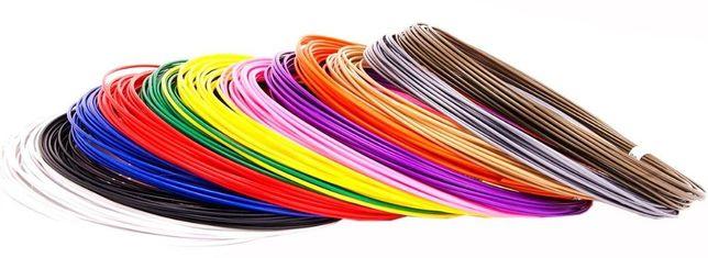 3 d пластик PLA ПЛА Нить, стержень для 3d ручки 100м, 120м,150м