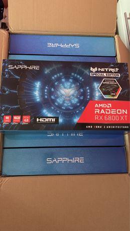 Видеокарта Sapphire Nitro+ Radeon RX 6800 XT SE 16GB GDDR6