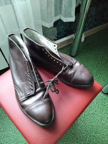 Продам военные кожаные ботинки СССР,новые.