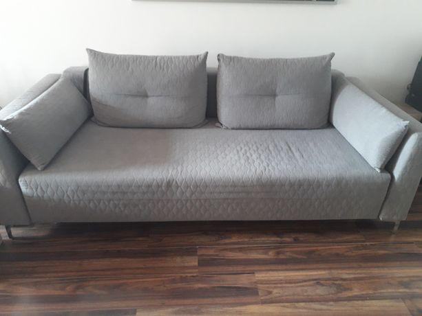 Sofa Lara Black Red White