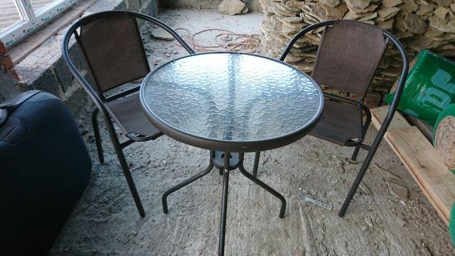 Набір столик та крісла. Стол стулья