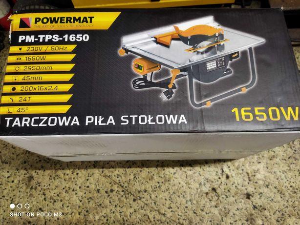 piła stołowa tarczowa powermat 1650w 230v(gwarancja)