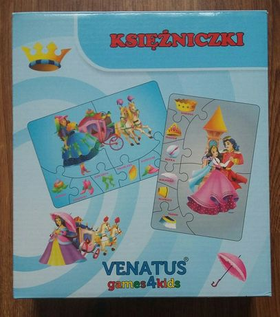 Puzzle Księżniczki - Venatus