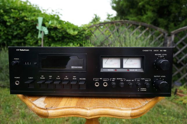 Magnetofon  kasetowy Teleton SC 150 Deck Vintage