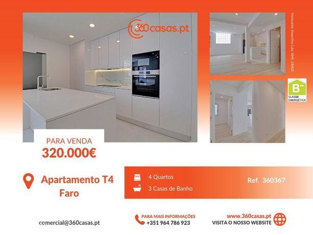 Apartamento T4 totalmente renovado com 3 WC na Baixa de Faro