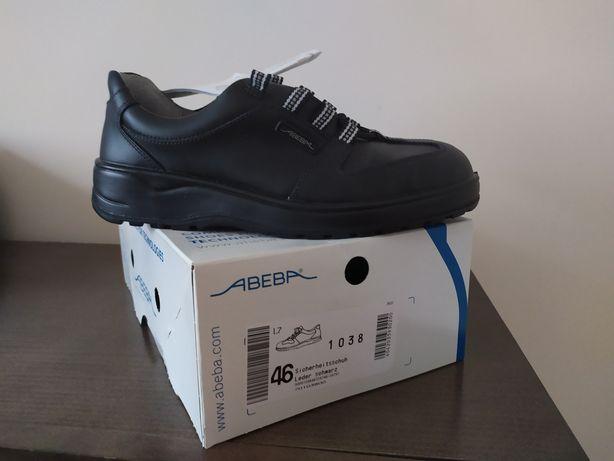 Czarne buty abeba 46