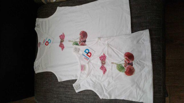 Новые футболки и майки на девочек
