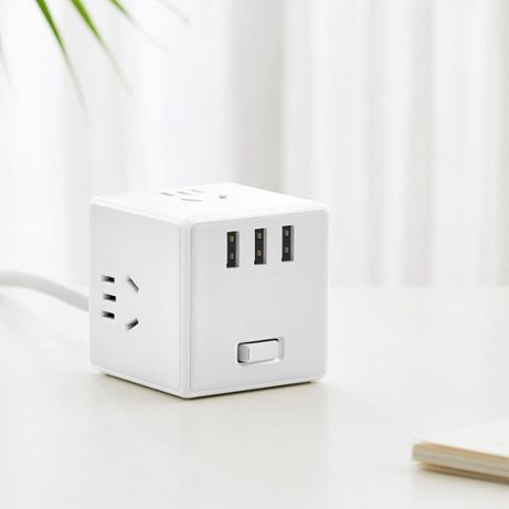 Удлинитель Xiaomi Mijia Rubiks Cube Converter Wired (с проводом)