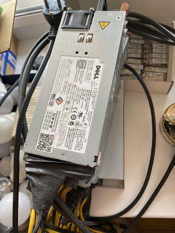 блок питания для Asic Antminer Dell DPS 1200