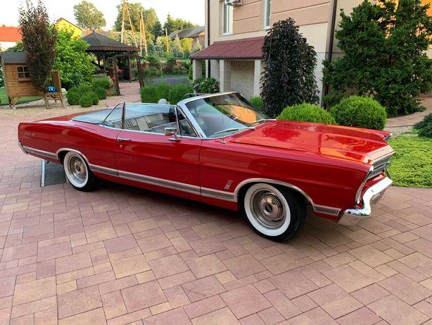 Auto na ślub | FORD GALAXIE 500 kabriolet 1967r| Klasyk, zabytek!