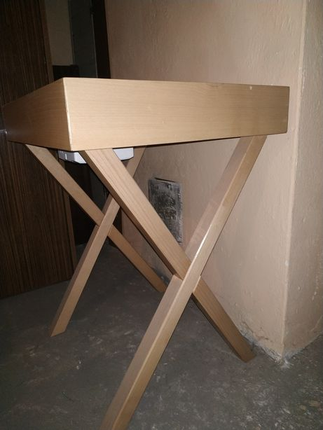 Stolik 60x50 drewno
