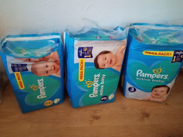 Pampersy firmy Pampers 2/3