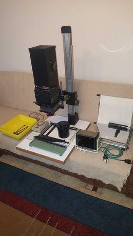 Powiększalnik Krokus i akcesoria.