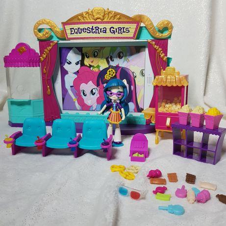 Domek Dla Lalek Kino Equestria Girls My Little Pony MLP lalki