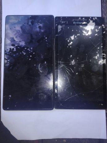 Два неробочих планшета Lenovo
