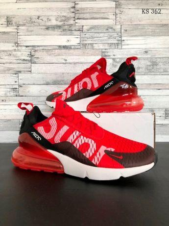 Кроссовки мужские Nike A270 Supreme Red ! Артикул: KS 362