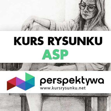Kurs rysunku na ASP - przygotowanie do egzaminów wstępnych