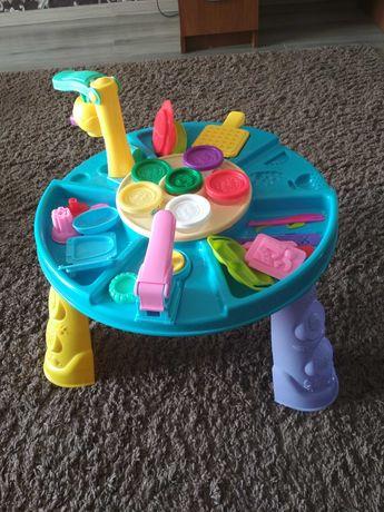 Столик игрушечний для лепки с инструментами
