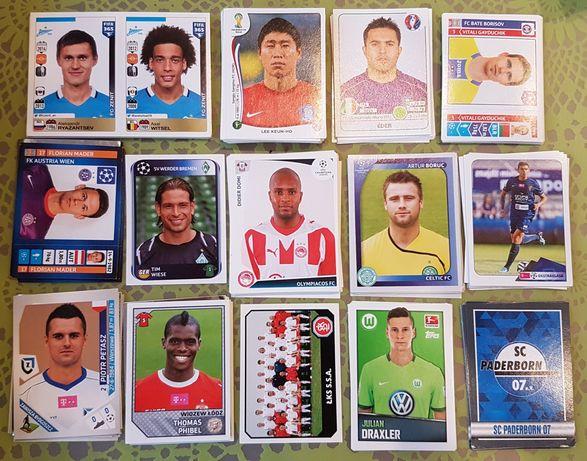 Naklejki piłkarskie Panini (różne) i Bundesliga Topps