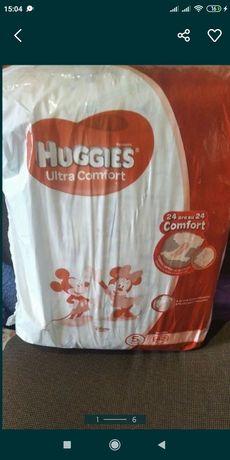 Продам подгузники памперсы Huggies 5