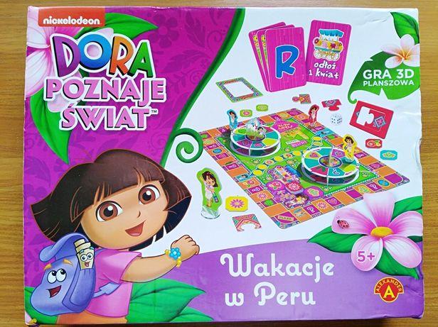 Настольная игра про Дору (Дашу) - путешественницу на польском
