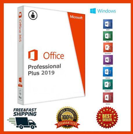 Microsoft Office 2019 Pro Plus  32/64 Bit Genuine Activation Key
