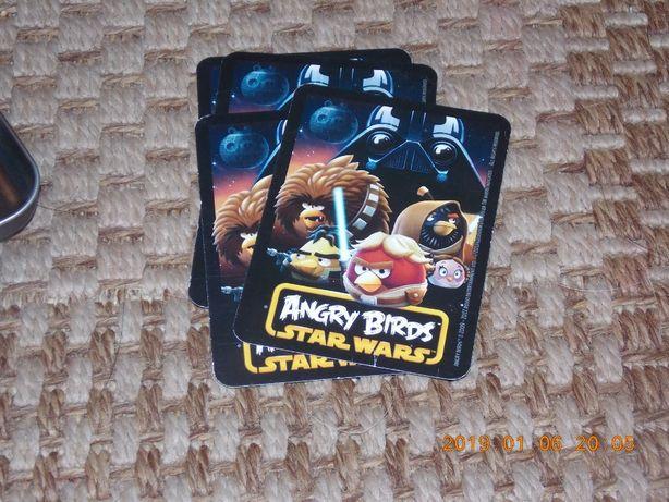 Angry Birds Star Wars karty do gry limitowana edycja