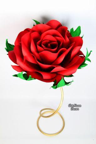 Kwiat stojący - dekoracja ślubna