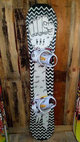 Deska snowboardowa BigOSnowboards FIST 142  cm