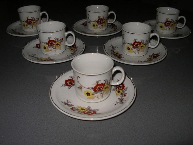 Chávenas de Café em porcelana