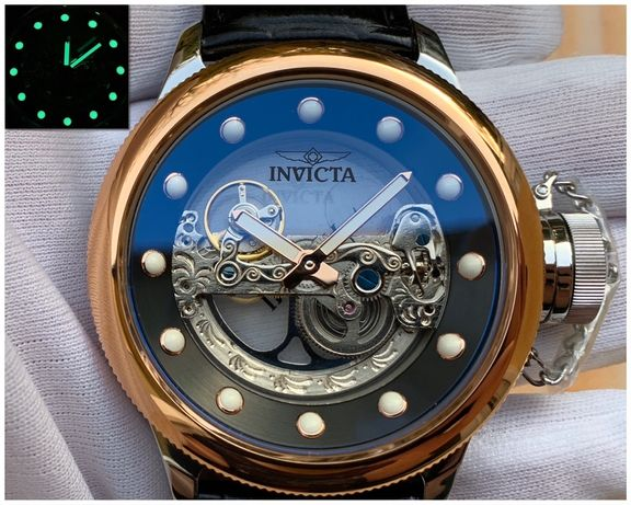 Мужские часы Invicta 24595 Russian Diver Ghost Bridge 52 mm. Automatic