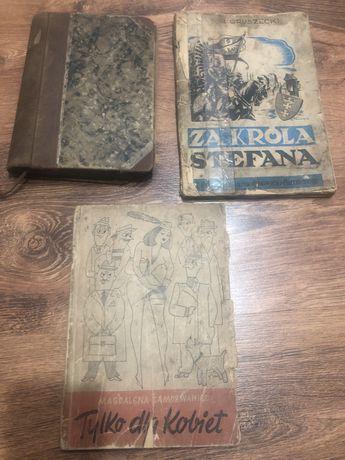 Stare 3 książki tylko dla kobiet Za króla Stefana Rok 1809